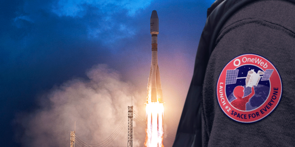 OneWeb prepares to launch its first regular series of micro satellites  into orbit