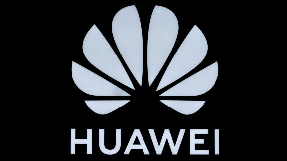 Huawei signage is pictured at their store at Vina del Mar, Chile, July 14, 2019.
