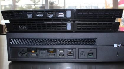 PS4 vs Xbox One rear ports
