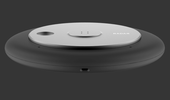 Radar's black sensor has RFID and computer vision technology