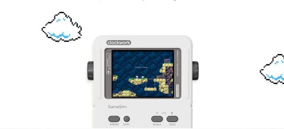 The GameShell from ClockworkPi.