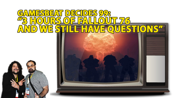 Mike played some Fallout 76, so does he have answers ... ?