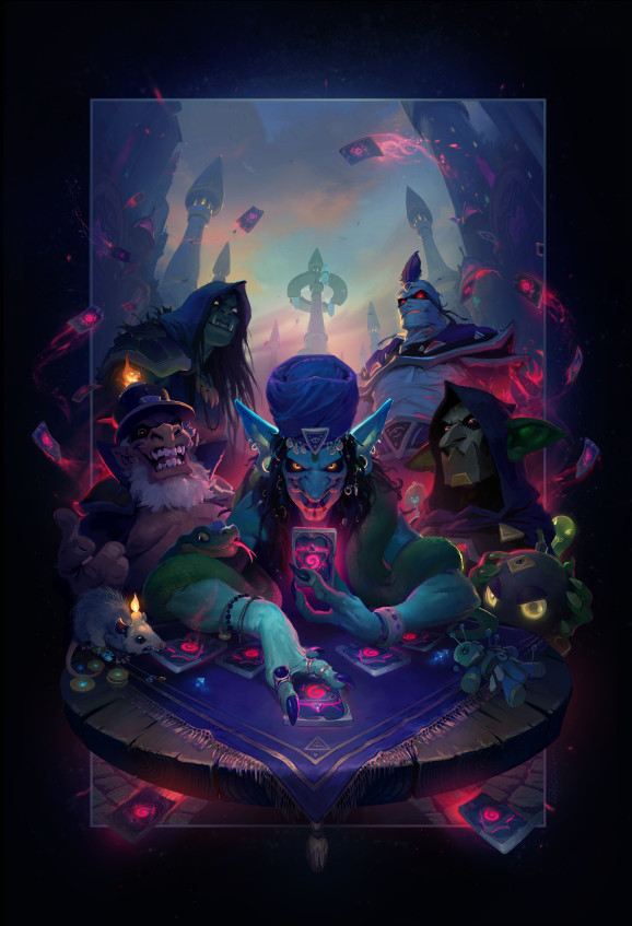 Hearthstone's first expansion of the Year of the Dragon is Rise of Shadows, and it stars these nefarious nere-do-wells.