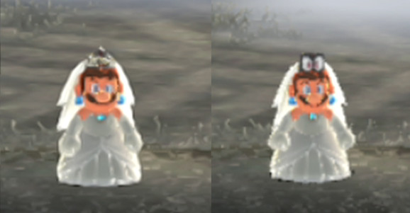 I only want the sharpest bride Mario on my wedding day!