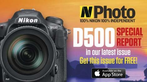 N-Photo magazine special edition celebrates the arrival of Nikon D500