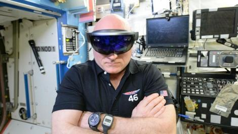 Even Scott Kelly thinks VR has 'great potential,' and he's been to space