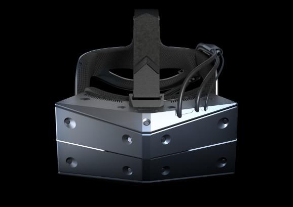 The StarVR One headset.