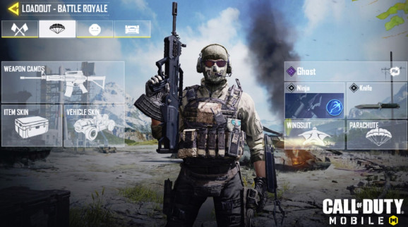 Call of Duty: Mobile -- Battle Royale mode lets you choose from six classes.