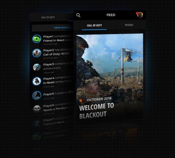 The Call of Duty Companion App.