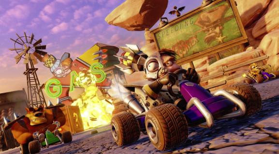 Crash Team Racing: Nitro-Fueled is coming in June, 2019.