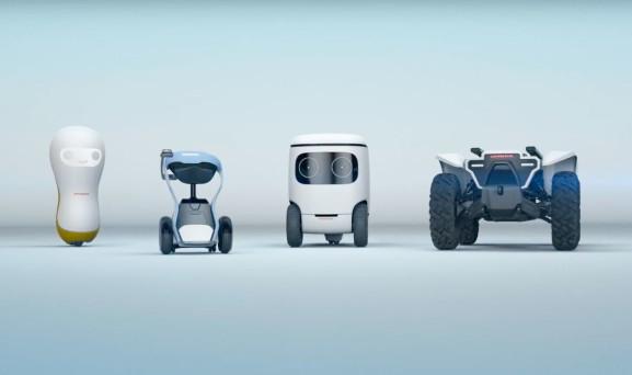 Honda robots