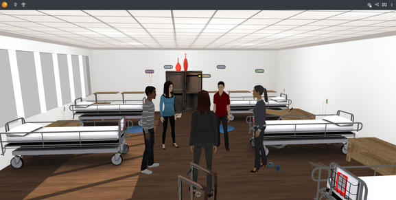 Virtual hospital training environment powered by Learnbrite
