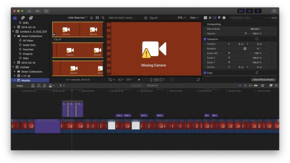 Final Cut Pro's latest update will prevent video files from becoming unreadable on future macOS releases.
