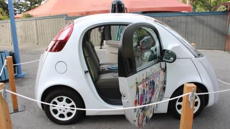 GOOGLE IO: Here are 17 new photos of Google's self-driving car