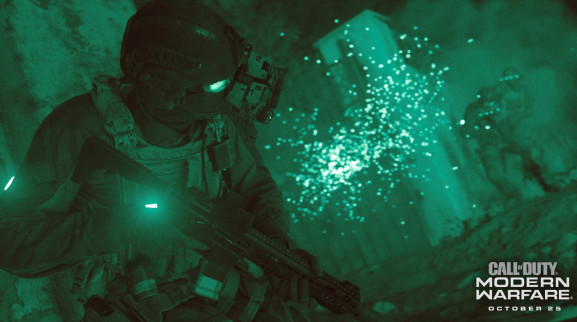Activision's Call of Duty: Modern Warfare debuts on October 25.