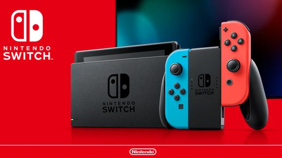 The new Nintendo Switch model.