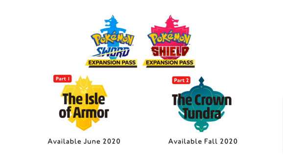 The Expansion Passes for Sword and Shield.