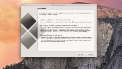 Dual boot your Mac with Boot Camp