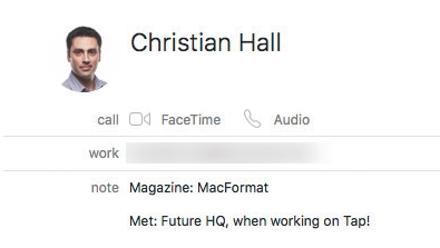 How to use Smart Contacts on a Mac