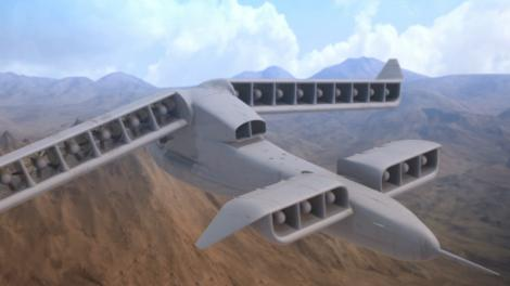 This DARPA heli-plane concept looks hella ridiculous