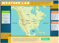 An Online Lab for Learning About Weather Patterns and Forecasts