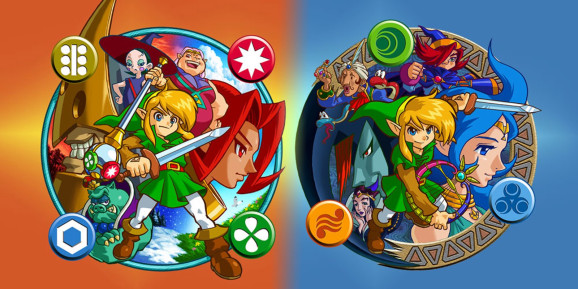 The Legend of Zelda: Oracle games rule.